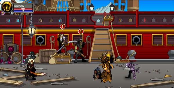 AQWorlds Talk Like A Pirate Day