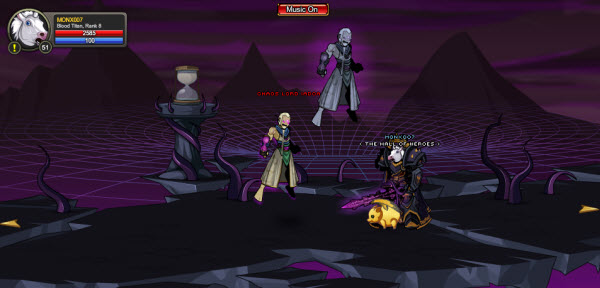 AQWorlds The 13th Lord Of Chaos - 10th Fight Iadoa