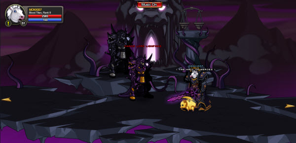 AQWorlds The 13th Lord Of Chaos - 11th Fight Lionfang