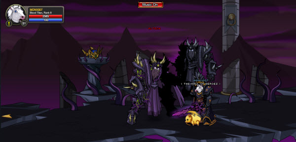 AQWorlds The 13th Lord Of Chaos - 12th Fight Alteon