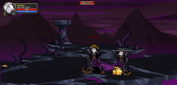 AQWorlds The 13th Lord Of Chaos - 13th Fight You