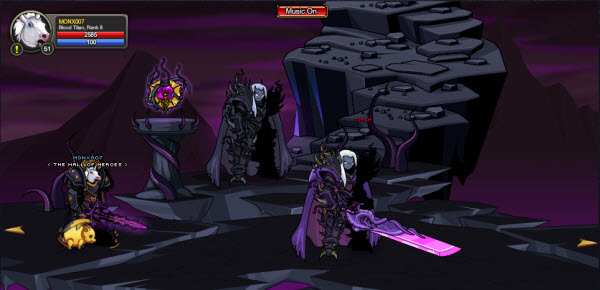 AQWorlds The 13th Lord Of Chaos - 3rd Fight Vath