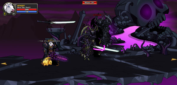 AQWorlds The 13th Lord Of Chaos - 4th Fight Kitsune