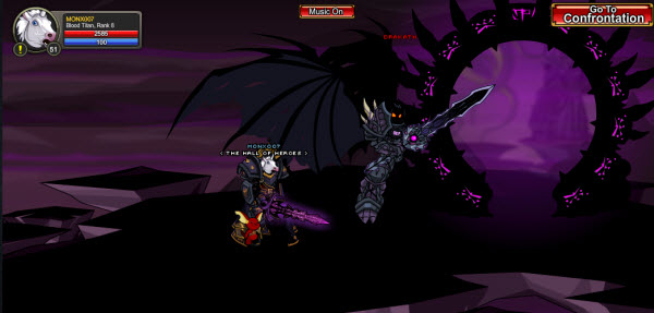 AQWorlds The 13th Lord Of Chaos - A Dragon Path