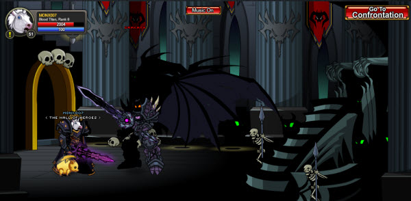 AQWorlds The 13th Lord Of Chaos - A Sky Captain Path