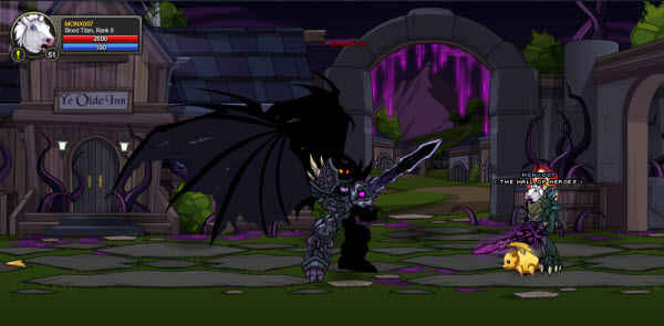 AQWorlds The 13th Lord Of Chaos - Fight Drakath!