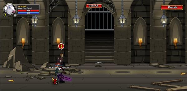 AQWorlds The 13th Lord Of Chaos - Killer Katacombs