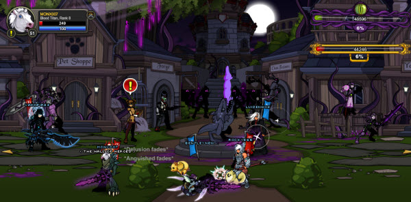 AQWorlds The 13th Lord Of Chaos - BattleOn War