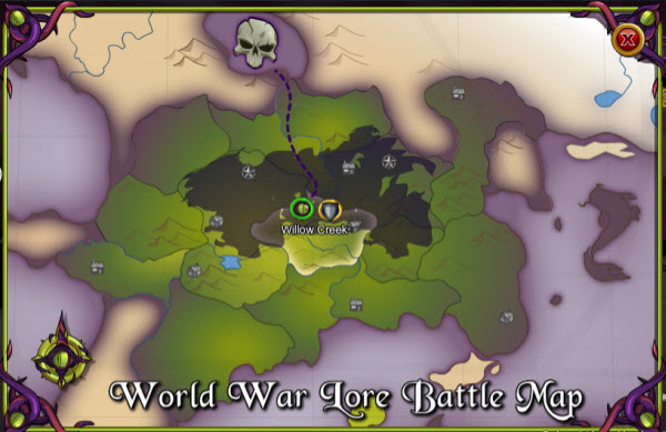 AQWorlds The 13th Lord Of Chaos - 1st War Map