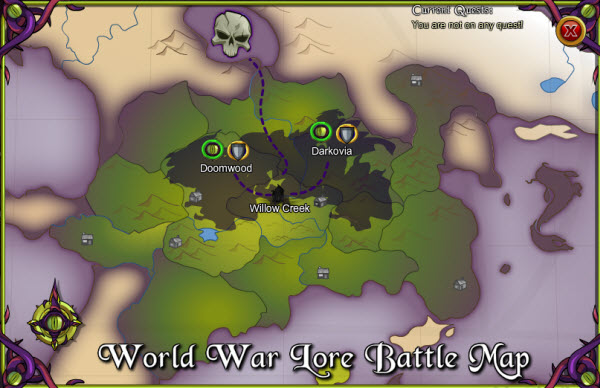 AQWorlds The 13th Lord Of Chaos - 2nd War Map