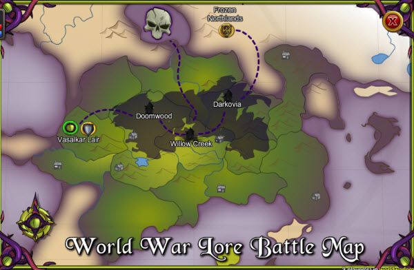 AQWorlds The 13th Lord Of Chaos - 3rd War Map