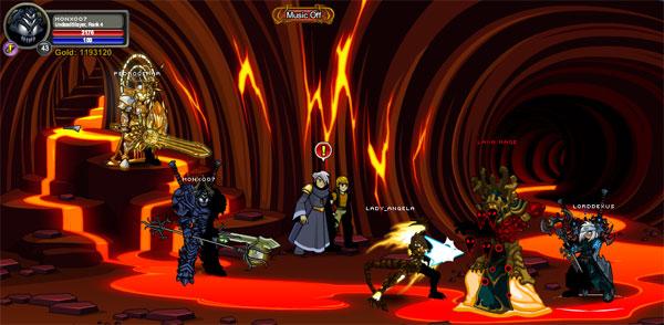 AQWorlds The Return Of Xan - Beneath the Xan's Town