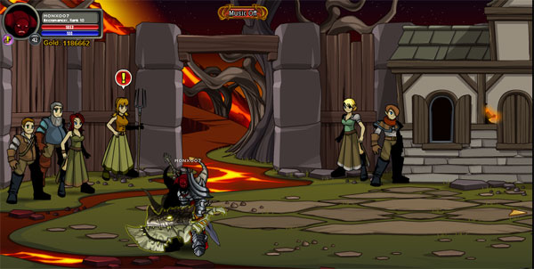 AQWorlds The Return Of Xan - Xan's Town
