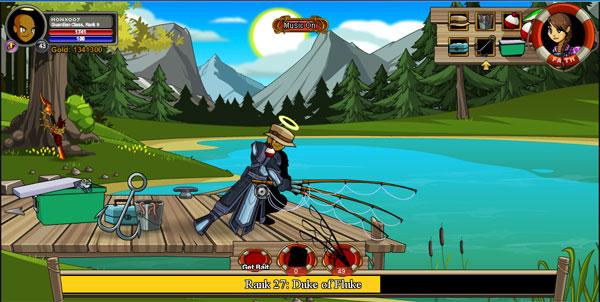 AQWorlds Trade Skills - Fishing