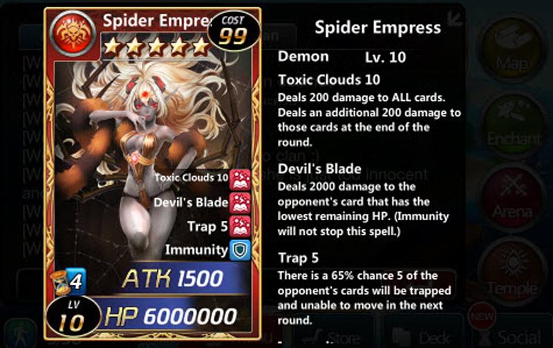 ELVES REALM: Spider Empress