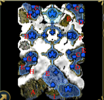 Heroes Of Might And Magic 6 - Final Campaign Map