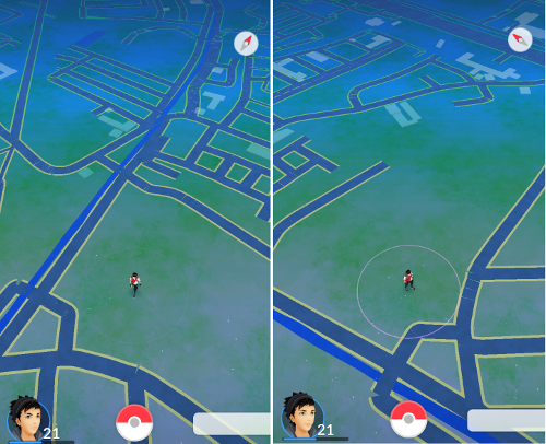 Pokemon Go: Empty Zone