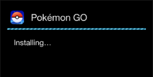Pokemon Go: Installing Process