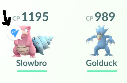 Pokemon Go: Pokemon Guard Sign At Pokemon Inventory Screen