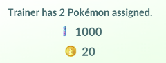 Pokemon Go: Your Salary For 2 Gym