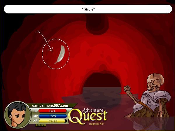 Games Monx: ADVENTURE QUEST WALKTHROUGH, TIP AND SECRET