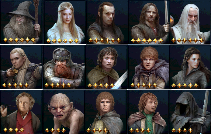 THE LORD OF THE RINGS - LEGENDS OF MIDDLE EARTH: Hall of Legends