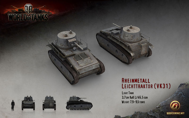 WORLD OF TANKS: Leichttraktor