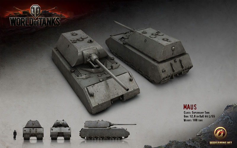 WORLD OF TANKS: Maus